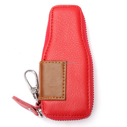 Fashion Car Key Wallets Portable Unisex PU Leather Holder Cover Women Men Zipper Purse Daily Life Necessity Small Keys Bags New