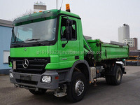 USED TRUCKS - MERCEDES-BENZ ACTROS 1836 4X4 TIPPER (LHD 4875 DIESEL)