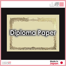 Diploma paper and related items stationery office supplies