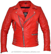 Leather Jackets / 100% Naked chowhide Leather / Leather Garments in Pakistan