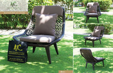 Synthetic rattan chairs outdoor furniture