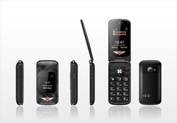 latest Big dial buttons 3G oldman phone zini G3 CE mobile with SOS Function made in china