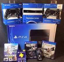 BUY 2 GET 1 FREE FREE SHIPPING FOR SONY PLAYSTATION 4 + 10 FREE GAMES , PS4 , NEW , WARRANTY , ORIGINAL