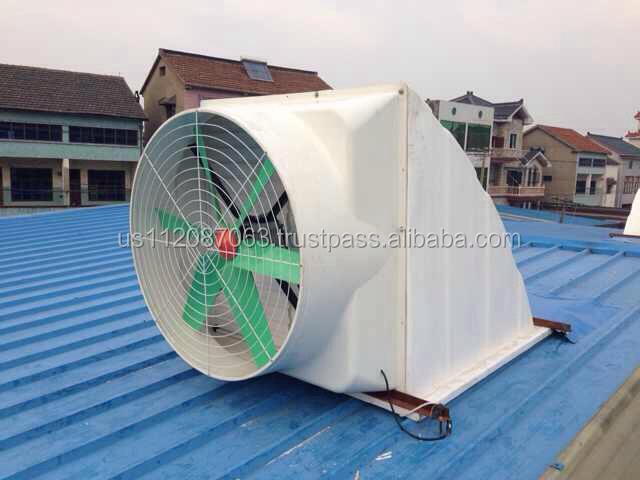 Big Roof Ventilator : Fiberglass big airflow roof ventilation fan prices