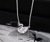 swan necklace wedding gift