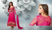 indio damas elegantes bordados partido usan trajes salwar