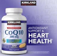 Kirkland Signature CoQ10 300 mg (100 Softgels)