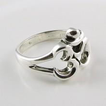 OM Lord Shiva !! Plain Silver 925 Sterling Silver Ring, Silver Jewelry India, Handmade Silver Jewelry