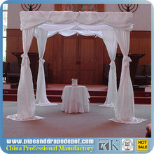 RK factory price diameter circle/round pipe and drape system /circle pipe and drape supports