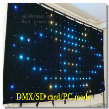 p10 programmable led signs full color led video curtain