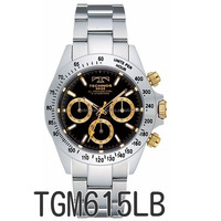 Various colors of chronograph Technos luxury watch waterproof up to 10 ATM