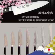 Japanese reliable kitchen knives in bulk produced by craftsmen