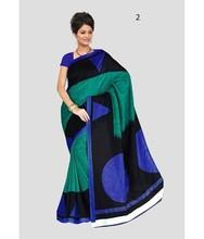 Printed Pure Silk Saree Fabric