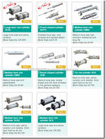 High Efficiency Cylinder pneumatic ckd smc made in Japan