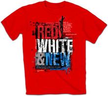 Red Gym Custom T-Shirt OEM ODM Custom Design Printing Logo Running T shirt Compression t shirt Men Tights Shirt