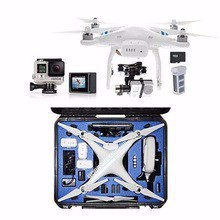 Factory Price For DJI Phantom 2 Ready to Fly Quadcopter Aircraft with Remote Controller 2.4GHz with GoPro HERO4 Silver Edition