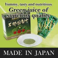 Easy to drink and Japanese capsules for vigour and vitality YONAGUNI Green Juice at reasonable prices , OEM available