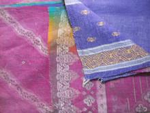 hand made kantha quilt ralli gudari Cotton Kantha Bed
