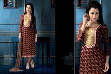 Designer Chudidar Suit Anarkali Cotton Salwar Kameez Ethnic Wear Girls Dress 13011