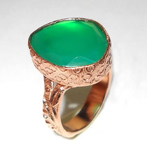18 CARAT ROSE GOLD PLATED FASHION RINGS WHOLESALE GEMSTONE COMPANY - GR999