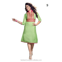 Indian Ladies Kurti Designs   Ladies Plain Linen Kurti