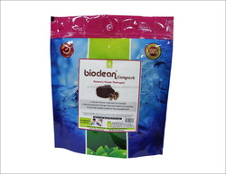 Organic product that helps to produce natural soil amendment by composting