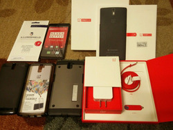"""Oneplus One Plus One FDD LTE 4g Mobile Phone 5.5"""" 1080p 64gb ROM Android 4.4 3100mAh Battery - all colors"""