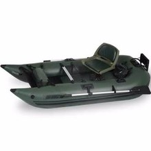 Sea Eagle 285 Pro Green Inflatable 9ft Pontoon Boat,