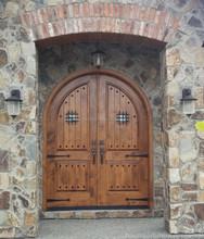 Custom made solid wood doors to order