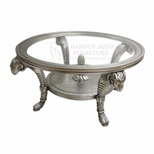 Best Quality Round Coffee Table with glass top