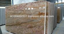 Imperiale oro pavimenti in piastrelle lastre di granito in levigato fiammato spazzolato finiti in pelle antichi finito