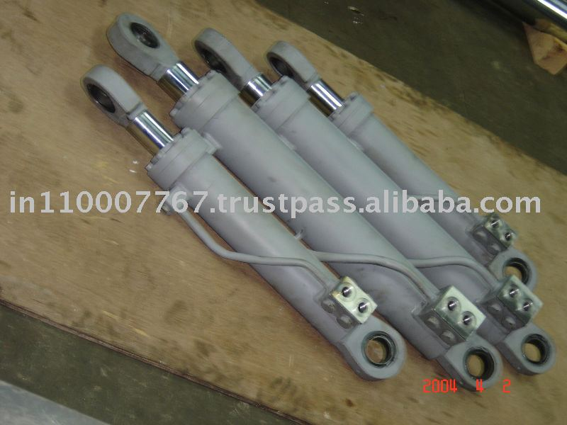 Weld Type Hydraulic Cylinders : Heavy duty welded and bolted type hydraulic cylinder buy