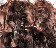 Natural Color Human Hair pure russian hair in stock!