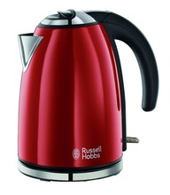 RUSSELL HOBBS - RED STAINLESS STEEL KETTLE