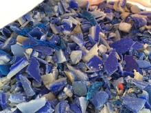 HDPE Flakes Plastic Raw Mat Crushed Cleaned Recycled Thailand