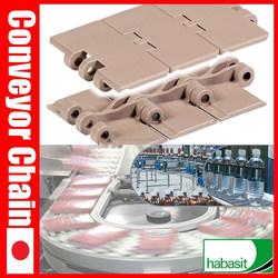 Slat Top Plastic Conveyor Chain HabaCHAIN 820 ( straight ) slat conveyor chain ( kraft )