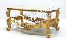 Furniture Coffee Table gold Color Indonesia - French Furniture Coffee Table Carved