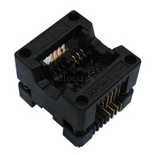 Factory Supply SOP-8(16)-1.27 Universal SOP SOP8 SOP16 IC Programmer Test Socket Adapter 1.27mm Pitch 8 Pin Top Quality