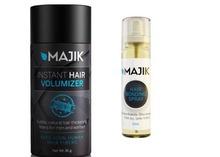 La fibra del cabello y Spray para el cabello