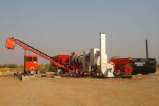 Planta de Mistura do asfalto para a Construção de Estradas