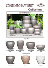 Contemporary Belly Round Cherokee Rustic Collection