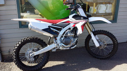 YZ450F Dirt Bike Off-Road RedWhite