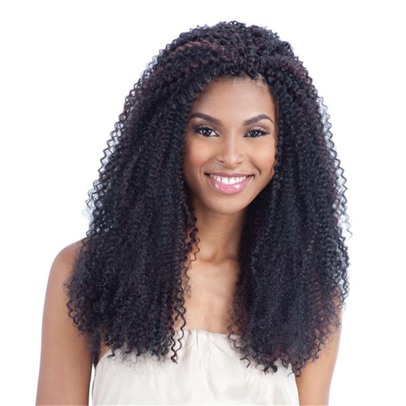 Royal Silk Brand Afro Kinky Twist Synthetic Hair Braiding Marley