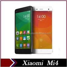 Original Xiaomi Mi4 M4 4G FDD LTE Phone Qualcomm Quad Core 3G WCDMA Cell Phones 3GB RAM 64G ROM 13MP Android 4.4 MIUI V6 GPS
