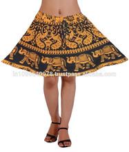 Buena calidad sencilla minifalda