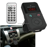 New Arrival Portable Bluetooth LCD Car Kit FM Transmitter USB Charger TF MP3 Wireless Handsfree With Mic Best Price
