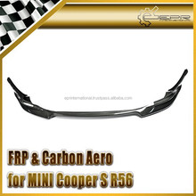 For R56 Mini-S Clubman Aquary Front Lip Carbon