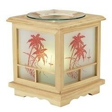 FRAGRANCE LAMP ORIENTAL - Wooden