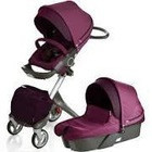 Buy 2 Get 1 Free Stokke _Xplory'_Stroller_with Changing_Bag Purple_Melange