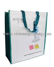 top fold shopping bag, pp woven bag